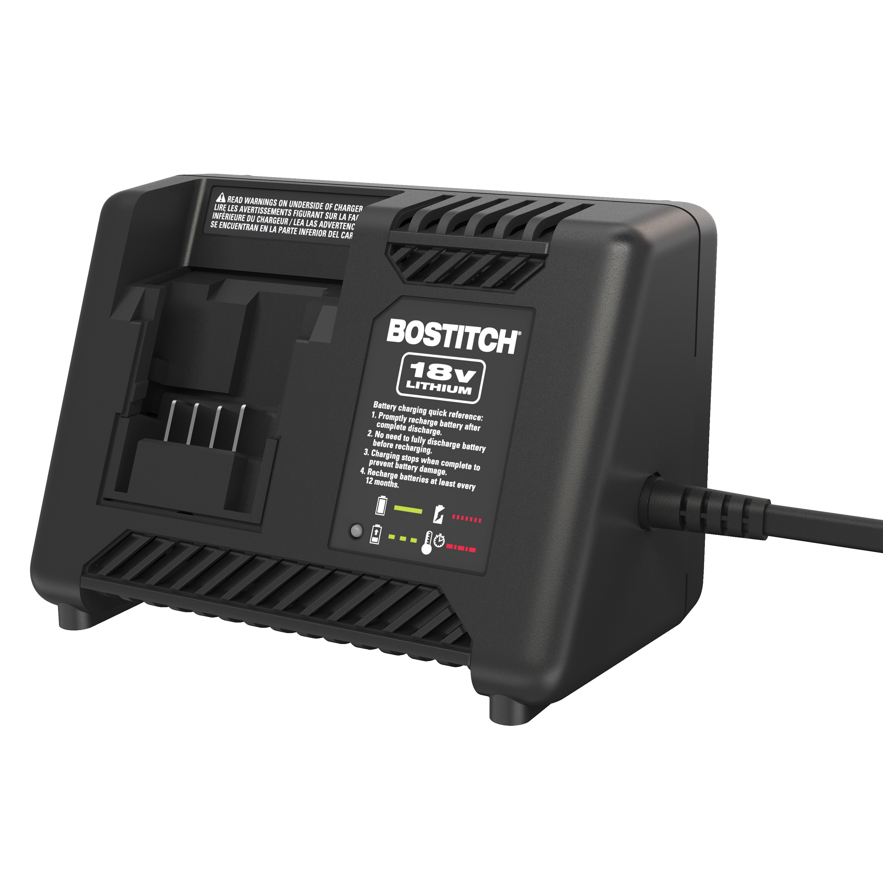 Bostitch - 18V Lithium Charger - BTC492L