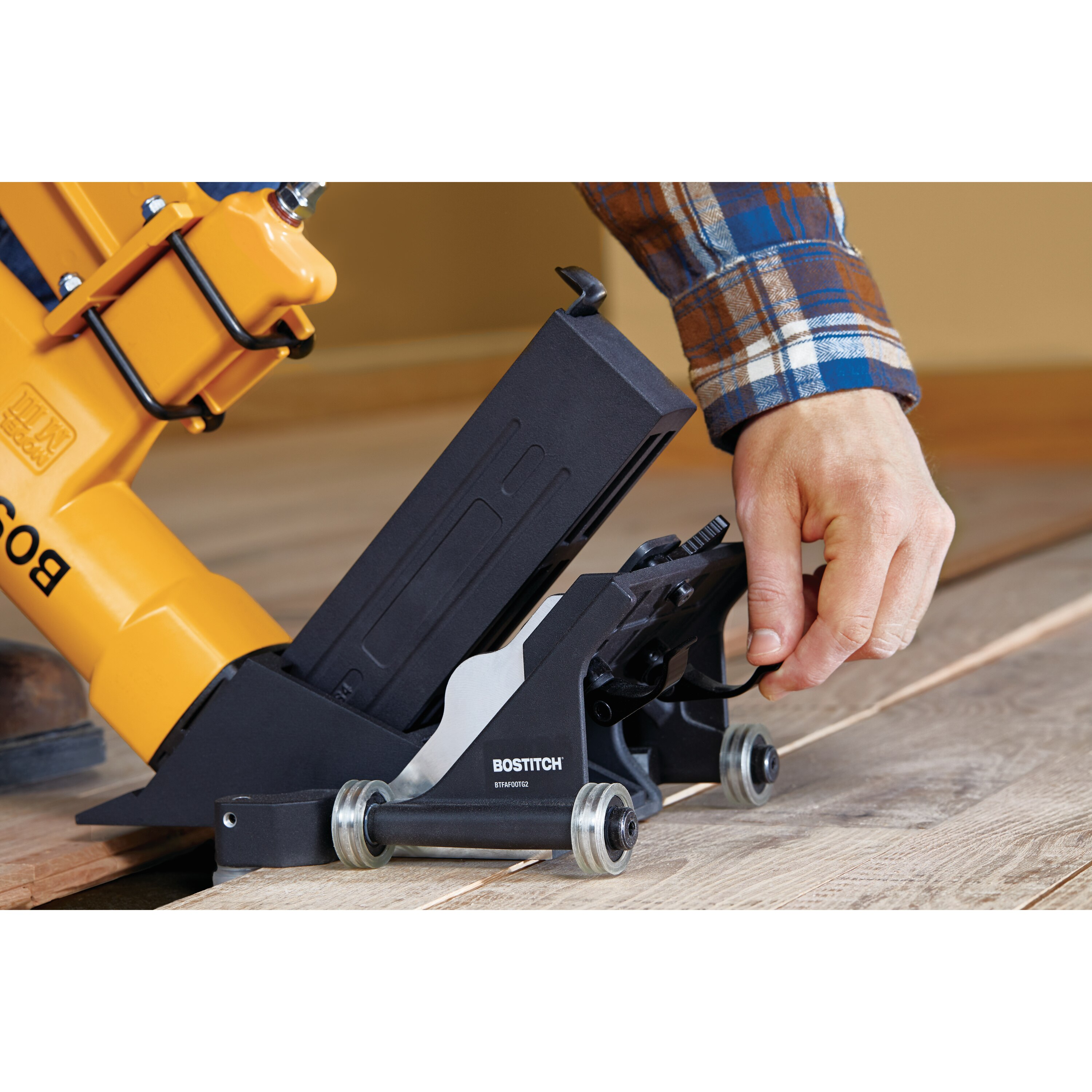 Bostitch - Rolling Base Flooring Attachment - BTFAFOOTG2