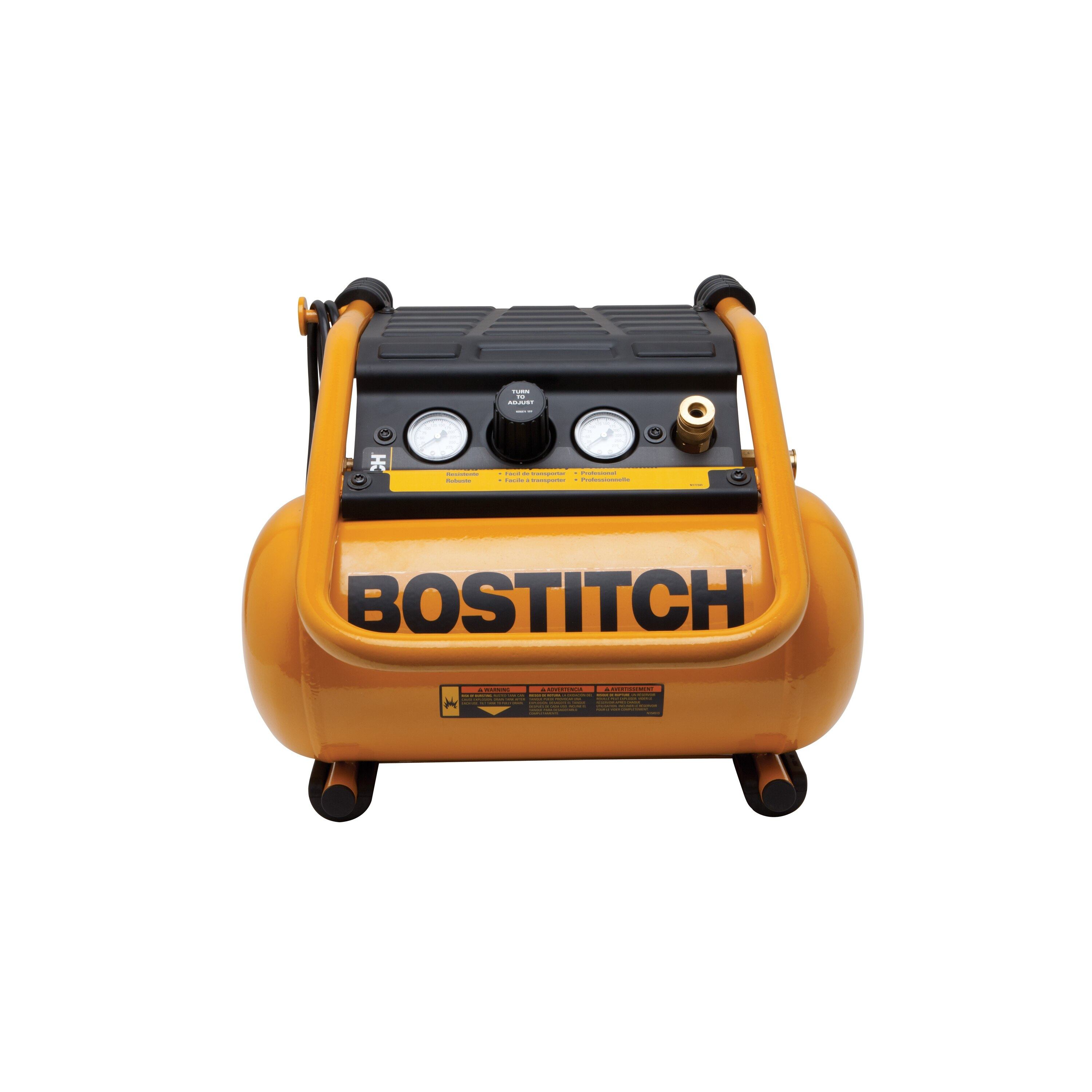 Bostitch - 25Gallon 150 Max PSI SuitcaseStyle Compressor - BTFP01012