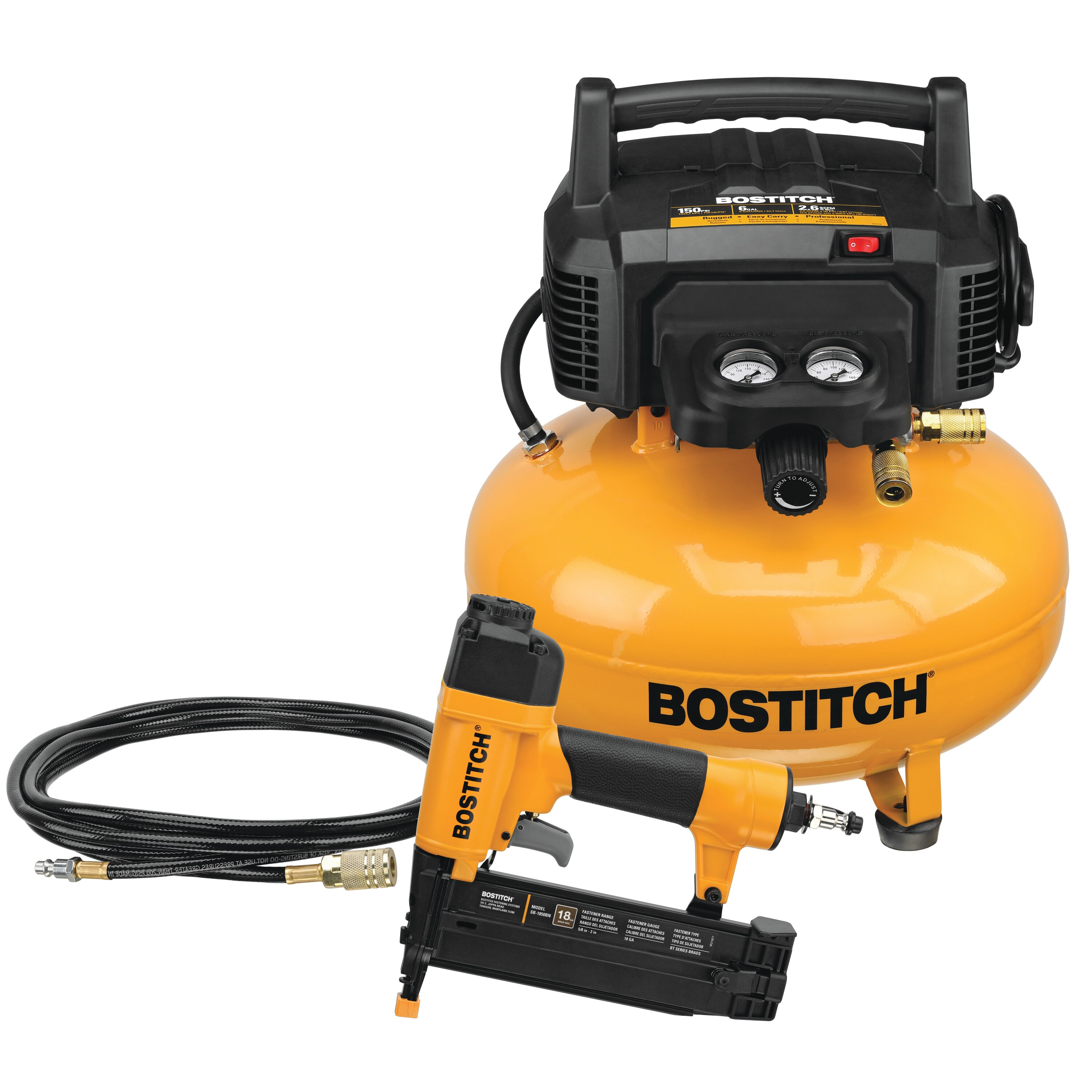 Bostitch - 1ToolCompressor Combo Kit - BTFP1KIT