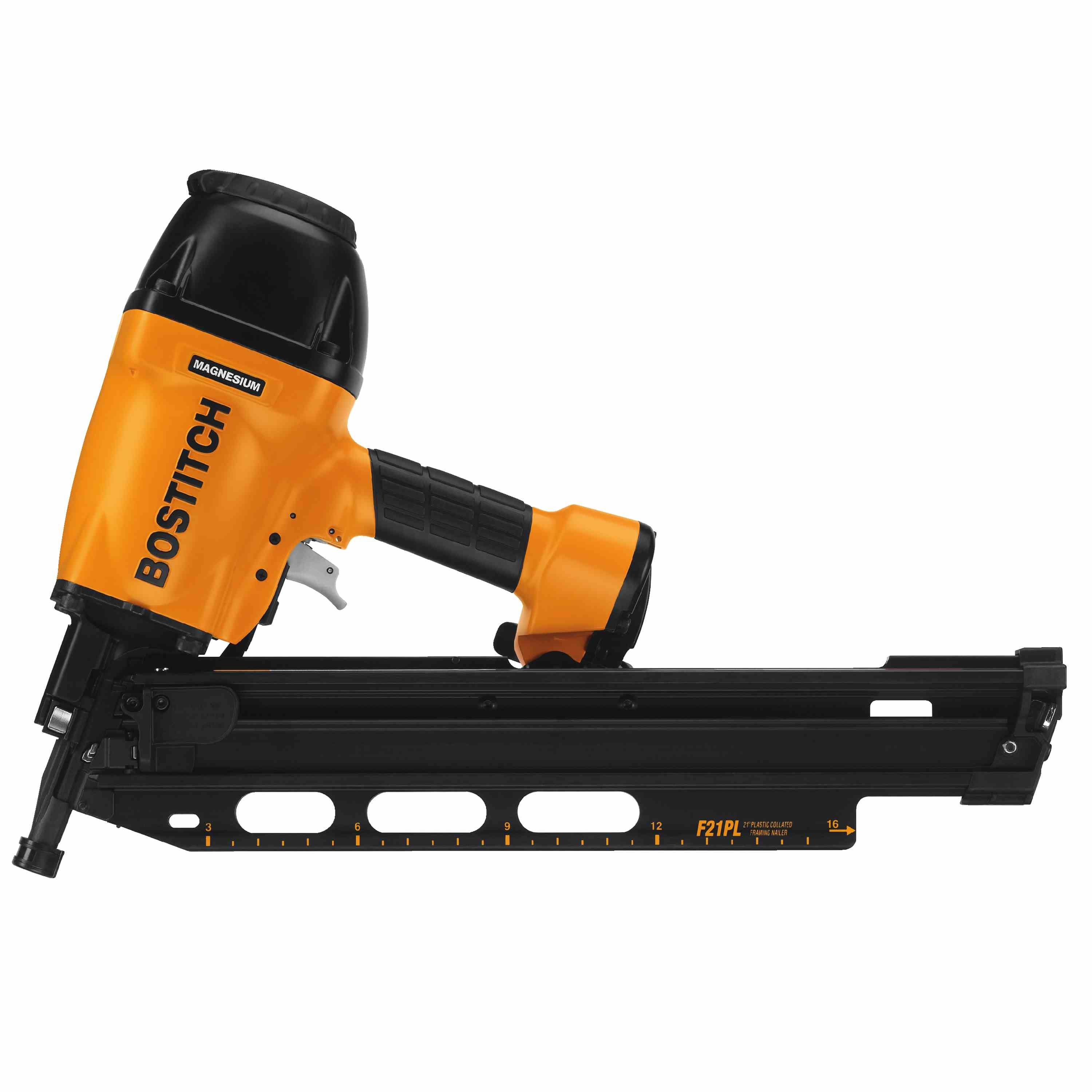 bostitch 21 degree plastic collated framing nailer f21pl