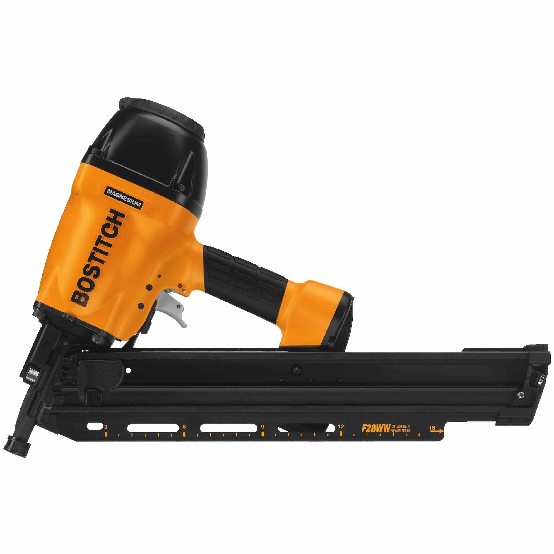bostitch 28 degree industrial framing nailer system f28ww