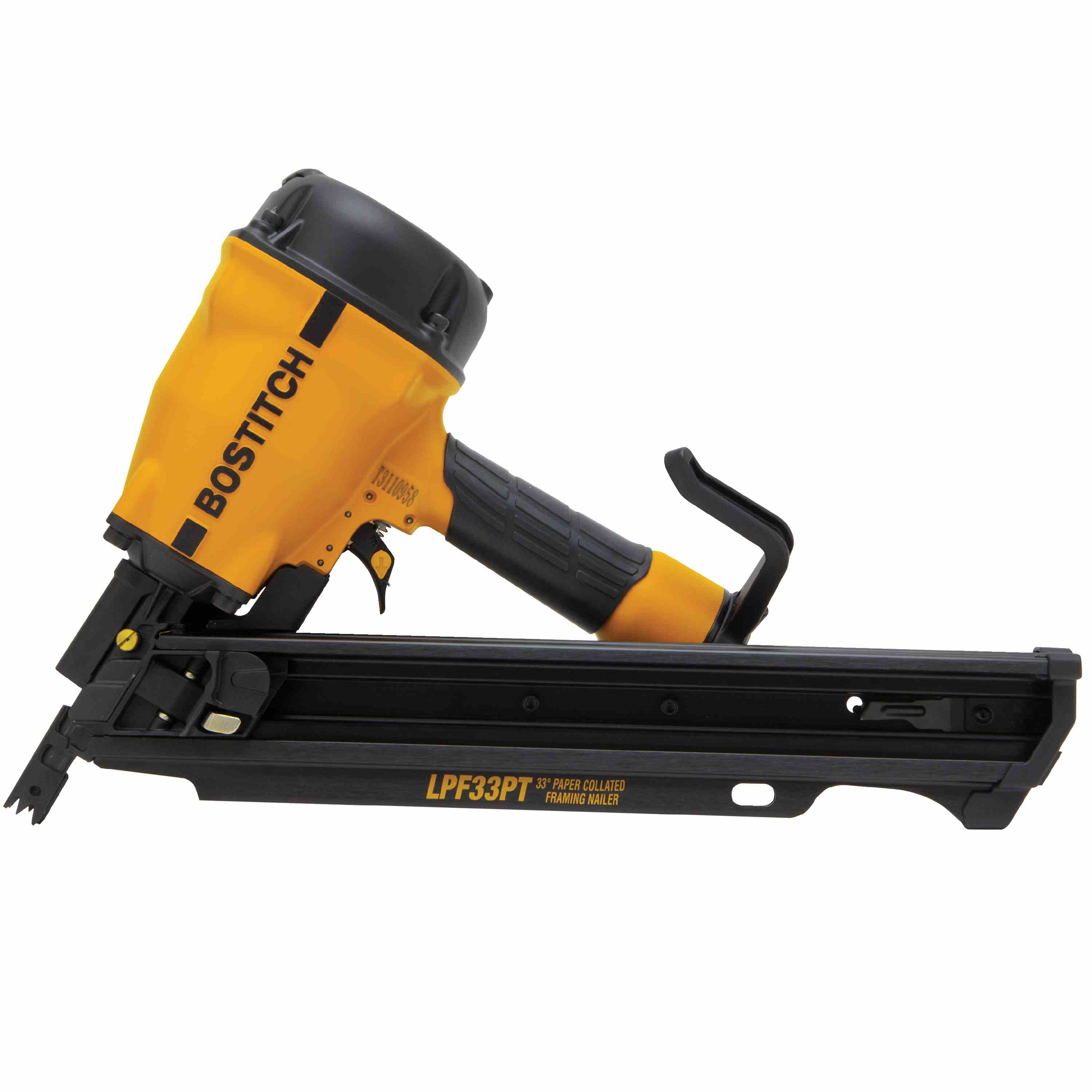 bostitch low profile paper tape framing nailer lpf33pt