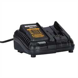 Bostitch - BOSTITCH 20V MAX Lithium Ion Battery Charger - BCB115