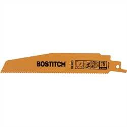 Bostitch - 6 10 TPI Demo Recip Blade  3 pack - BSA4864M