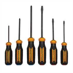 Bostitch - 6 pc Screwdriver Set - BTHT76013