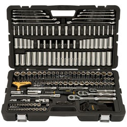 Bostitch - 246 Piece Socket Set 14 38 12 - BTMT72263