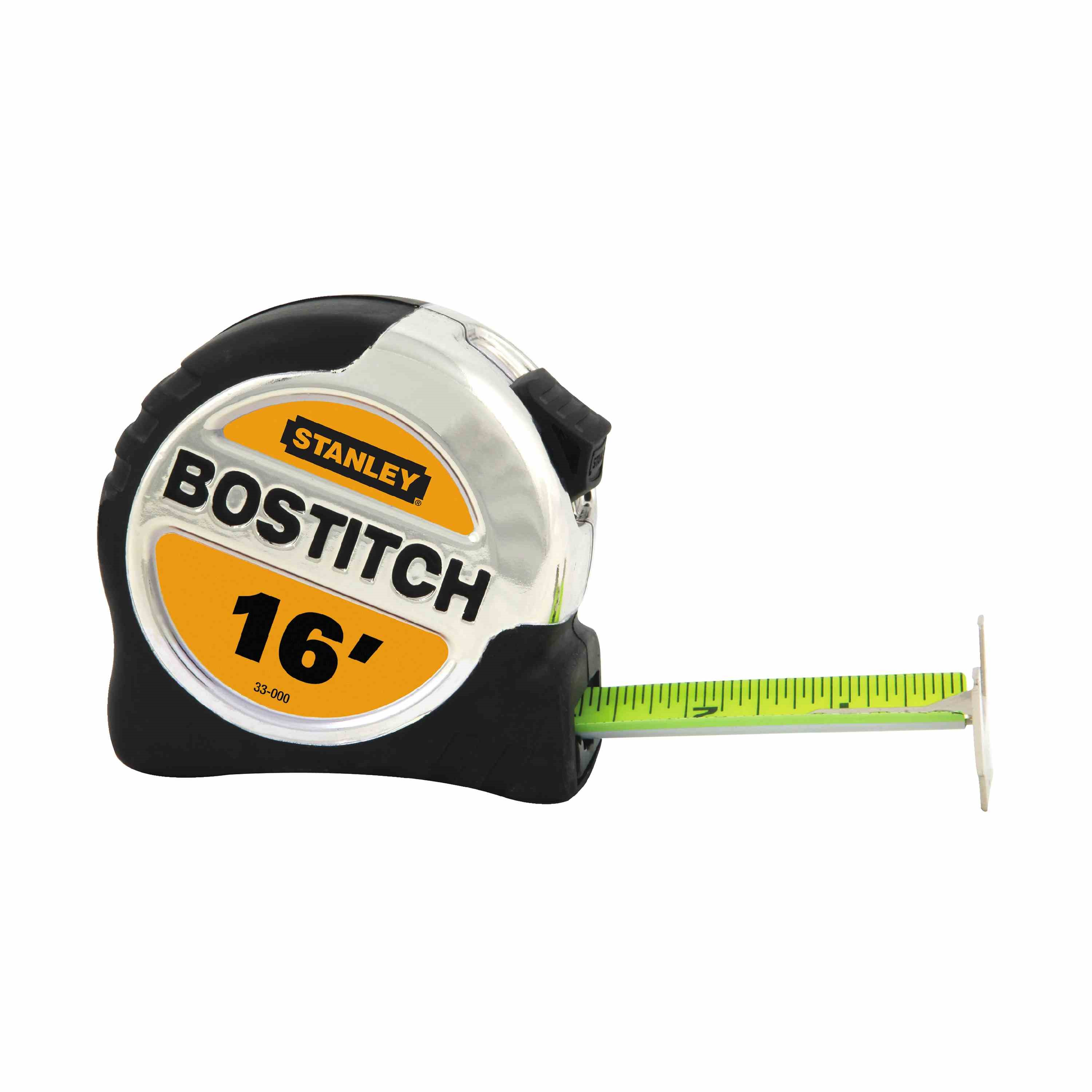 Bostitch - 114 in x 16 ft BiMaterial Tape Rule with BladeArmor - 33-000