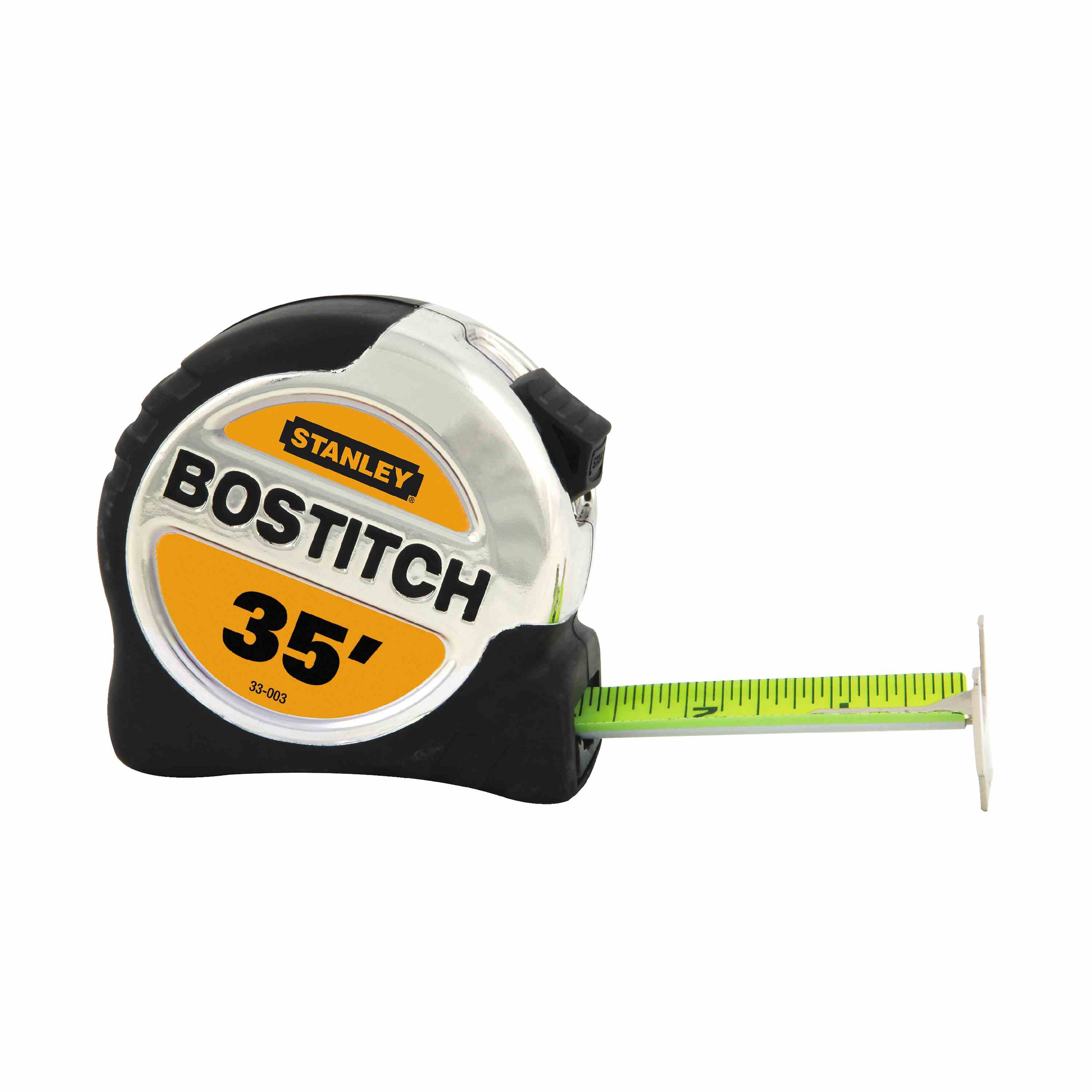 Bostitch - 114 in x 35 ft BiMaterial Tape Rule with BladeArmor - 33-003