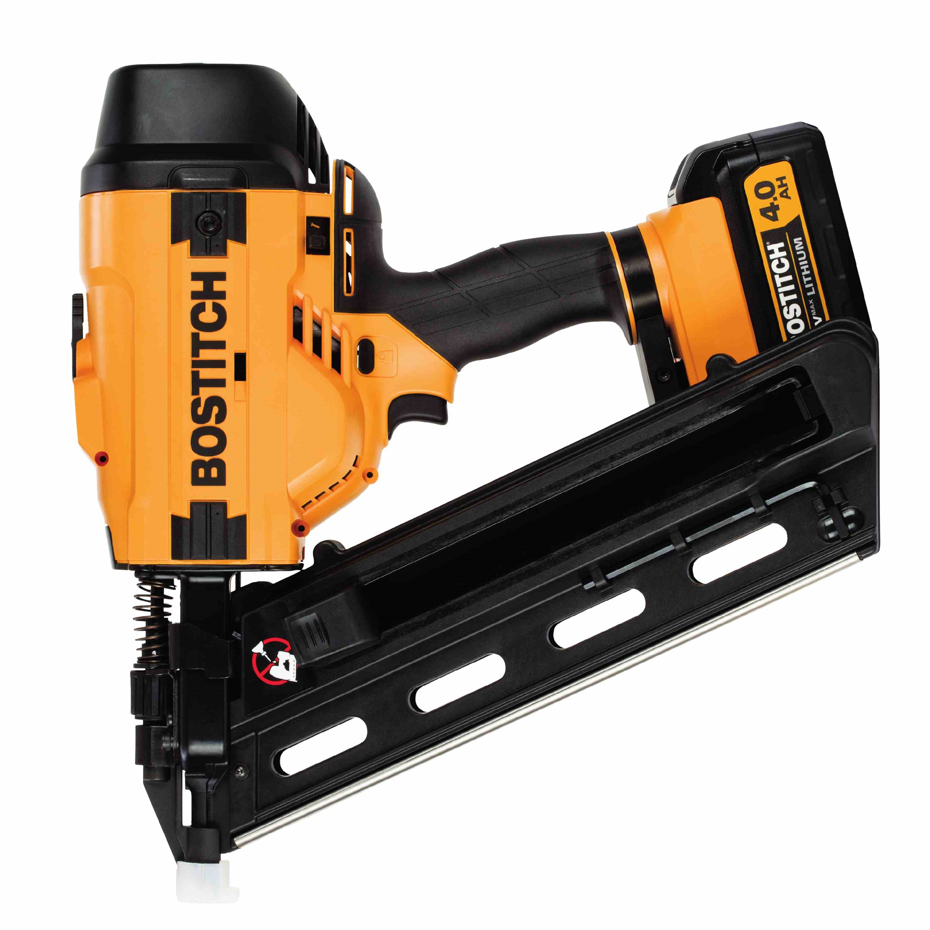 Bostitch - 20V MAX 28 Degree Wire Weld Cordless Framing Nailer Kit - BCF28WWM1