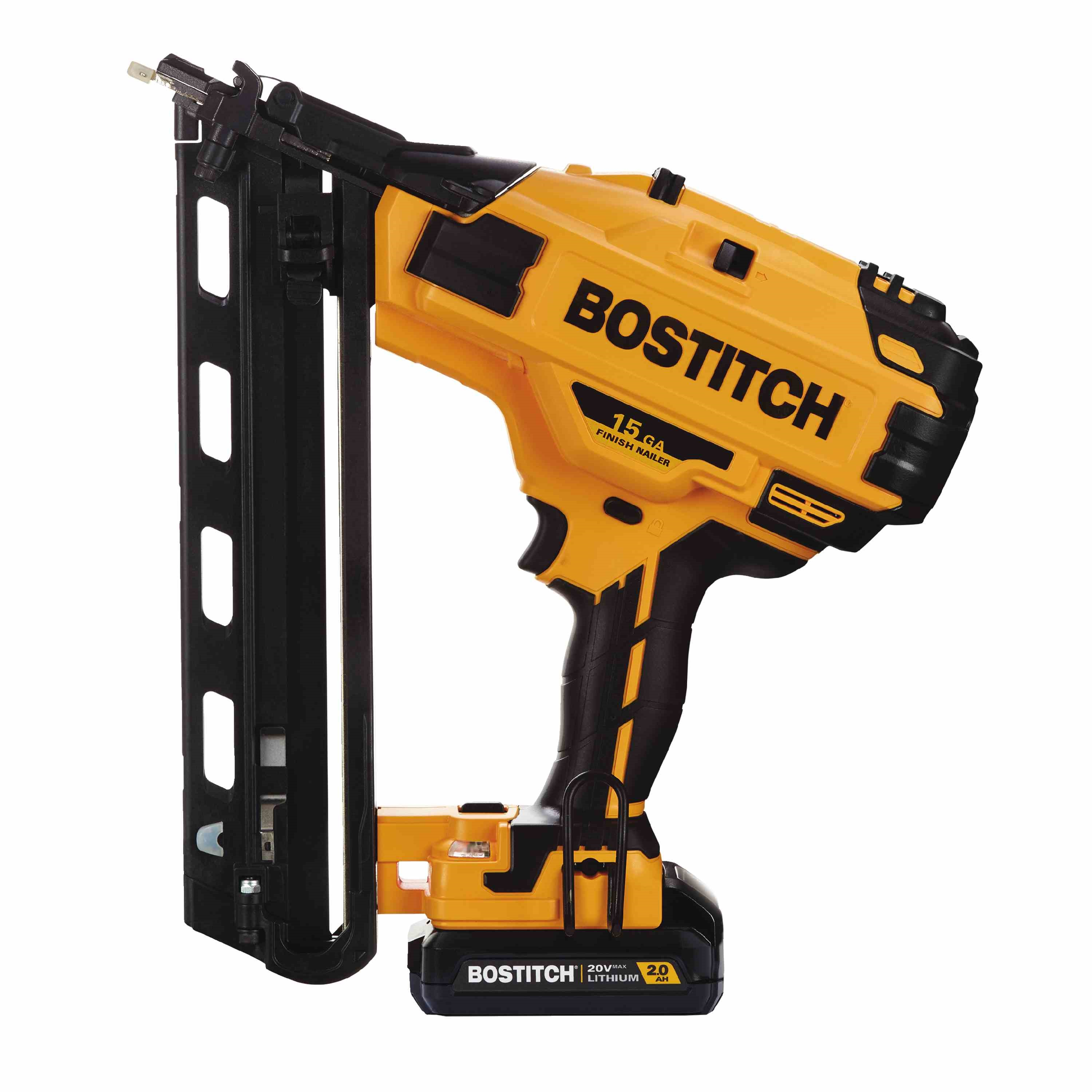 Bostitch - 20V MAX 15 GA FN Angled Finish Nailer Kit - BCN650D1