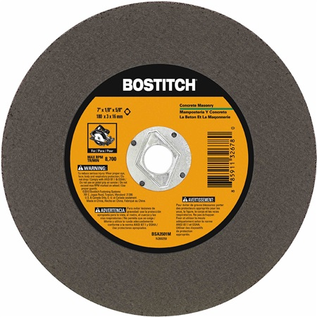 Bostitch - 7 X 18 MASONRY ABRASIVE SAW BLADE - BSA3501M