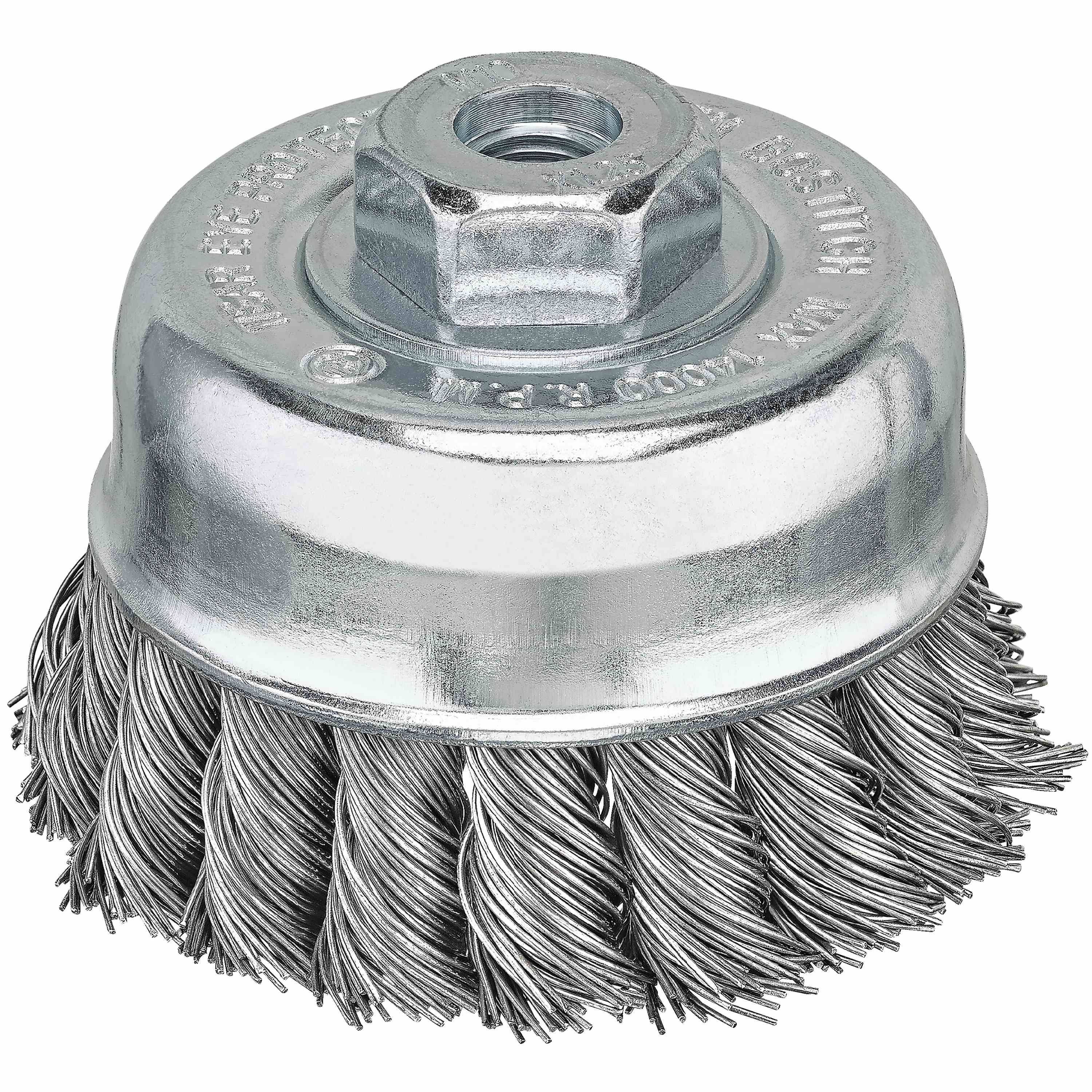 Bostitch - Carbon Knot Cup Brush - BSA4915M