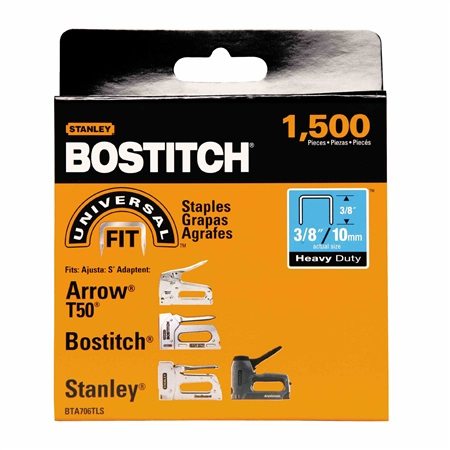 Bostitch - 38 in Staples Heavy Duty 1500 pc T50 - BTA706TLS