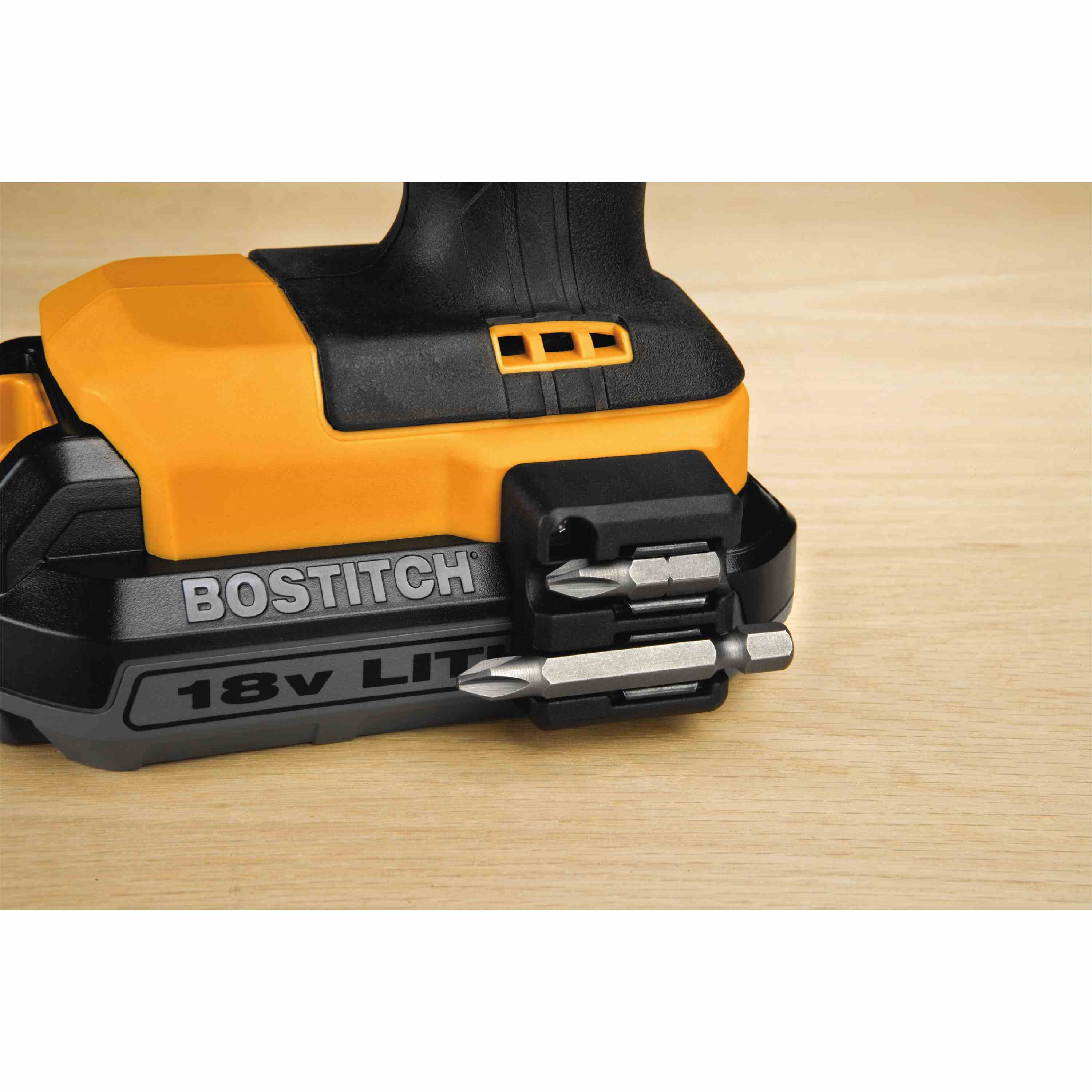 Bostitch - 18V 12 Lithium DrillDriver Kit - BTC400LB