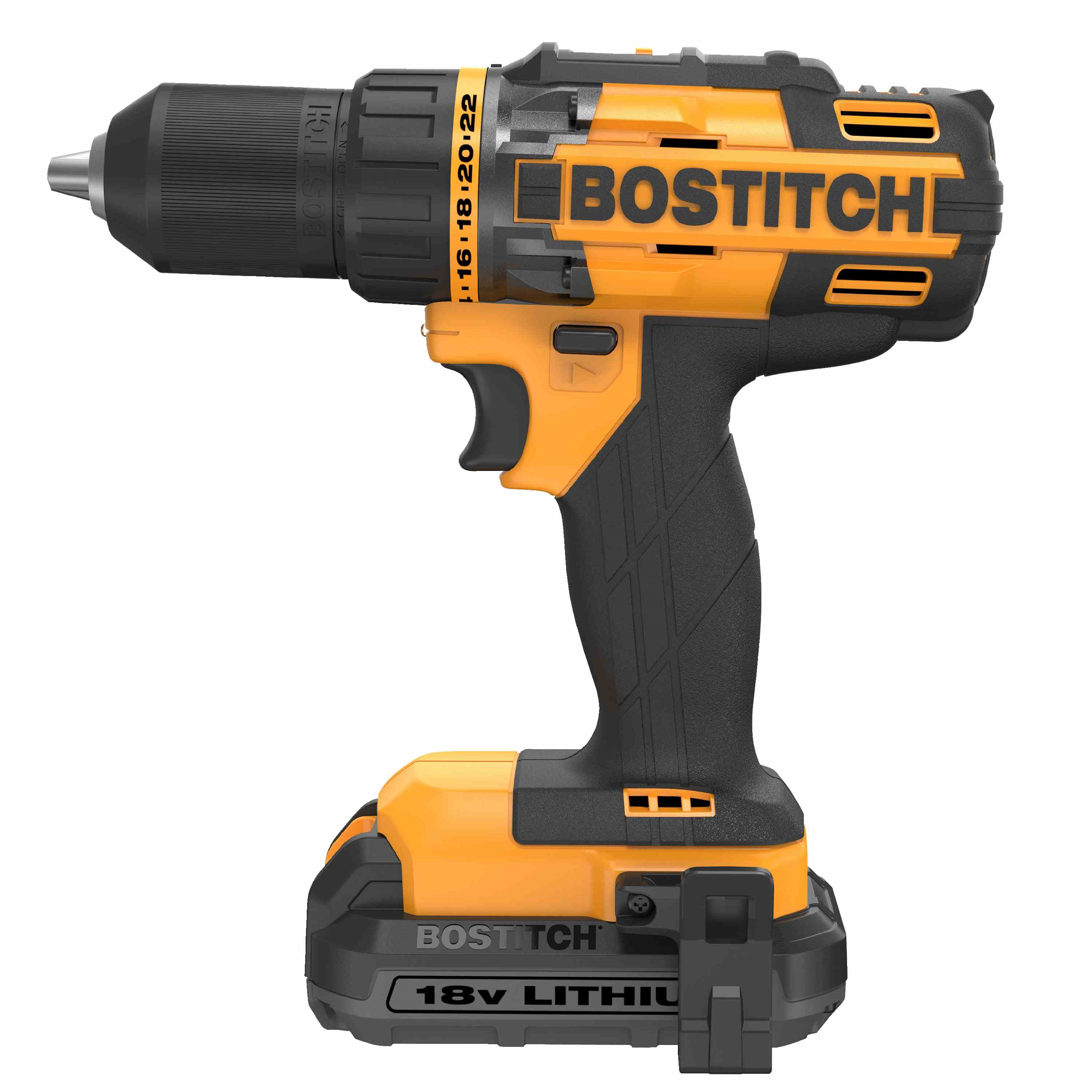 Bostitch - 18V Lithium 2 Tool Drill  Impact Combo Kit - BTCK410L2