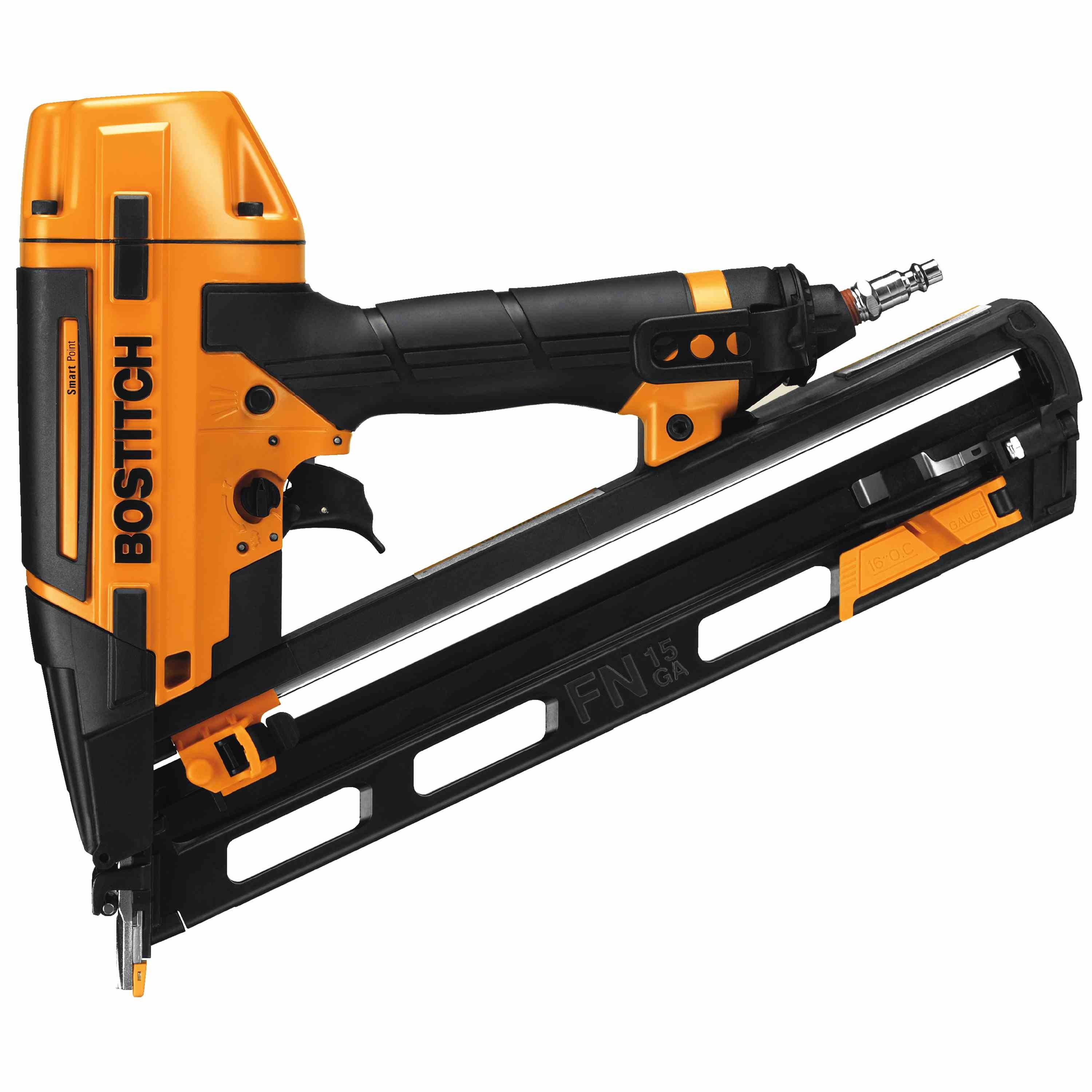 Bostitch - Smart Point 15 GA FN Style Angle Finish Nailer Kit - BTFP72156