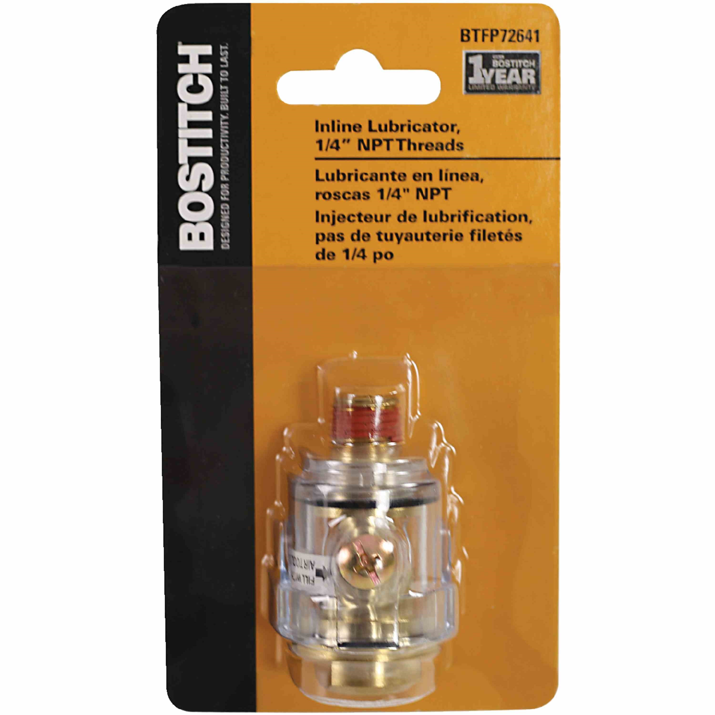 Bostitch - Inline Lubricator  14 Male Thread - BTFP72641