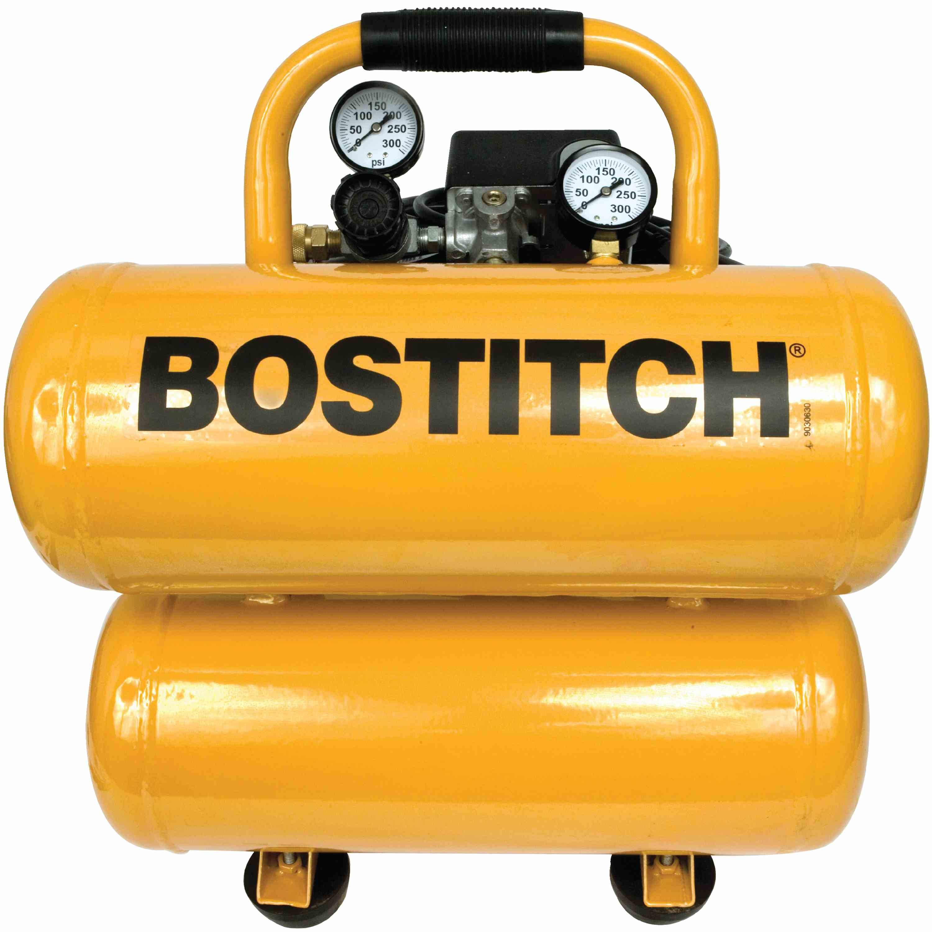 Bostitch - 4 Gallon OilLubricated Stack Tank Compressor - CAP2040ST-OL