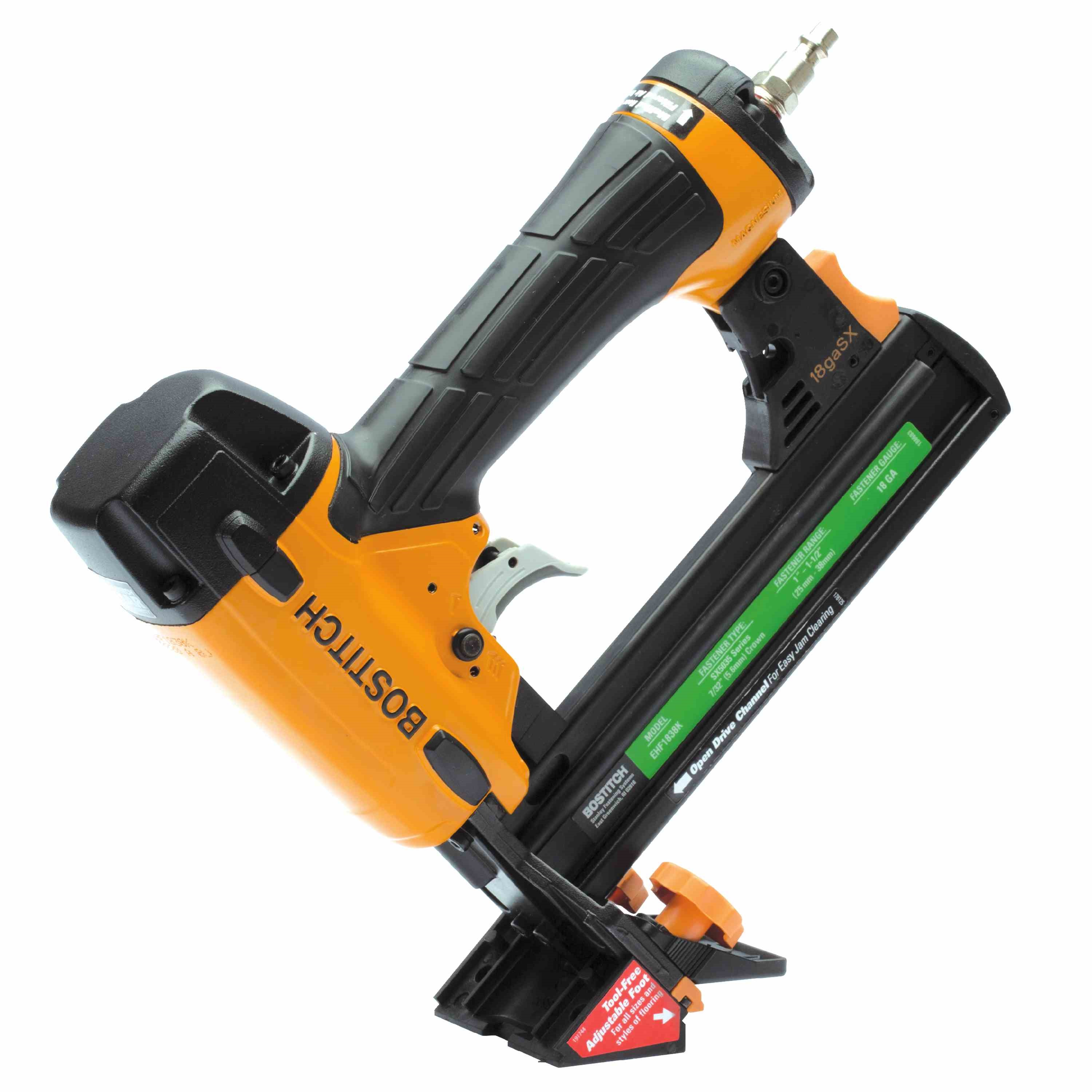 Bostitch - Bostitch 18 Gauge Flooring Stapler - EHF1838K