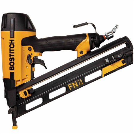 Bostitch - 15Gauge OilFree Angled Finish Nailer Kit - N62FNK-2