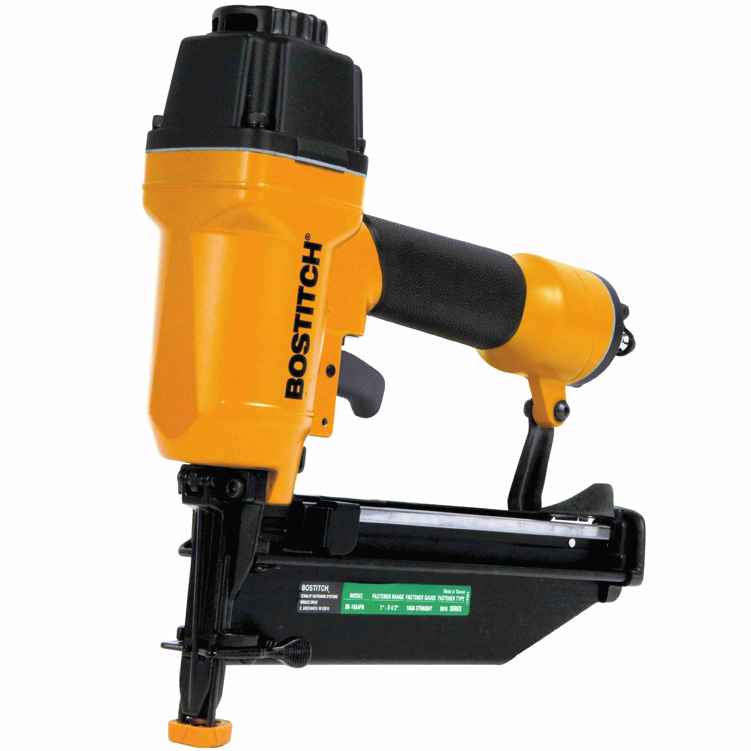 Bostitch - 16Gauge Straight Finish Nailer Kit - SB-1664FN