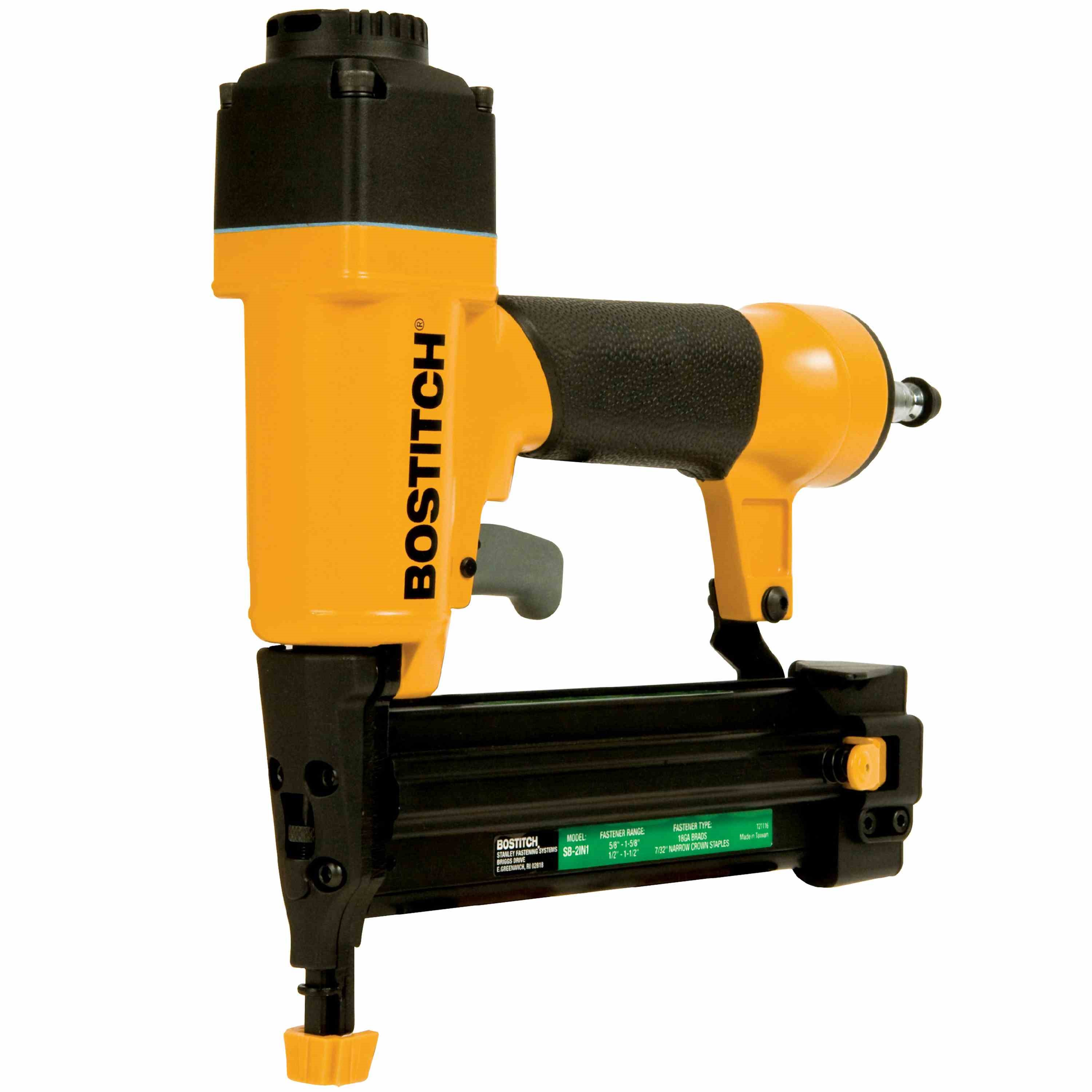 Bostitch - Combo Brad Nailer  Finish Stapler Kit - SB-2IN1