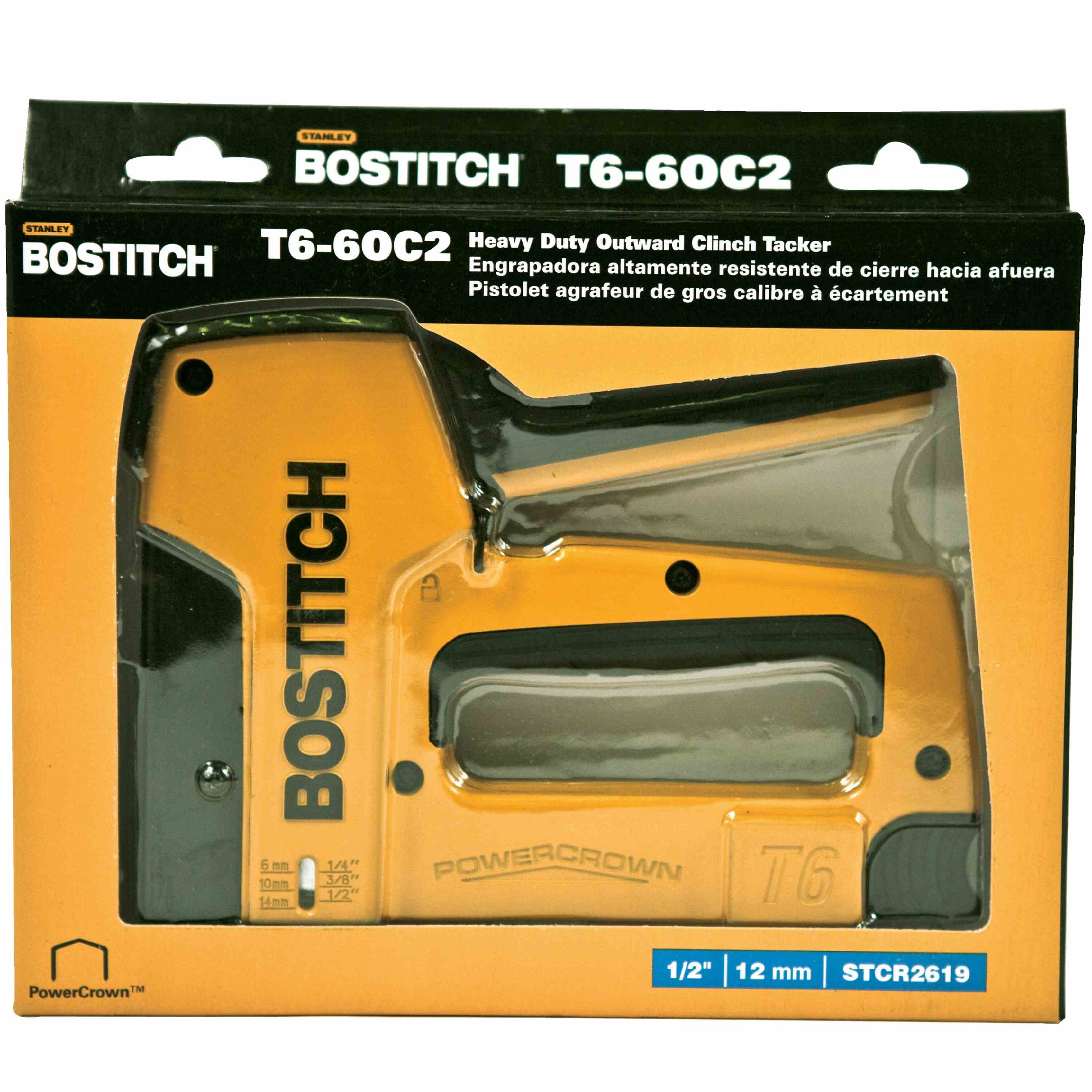 Bostitch - Heavy Duty PowerCrown Tacker - T6-6OC2